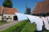 Laundry line — Stock Photo
