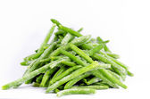 Frozen Beans — Stock Photo