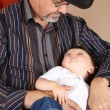 Grandfather and Grandson — Stock Photo #8831228