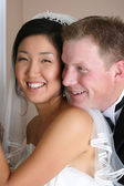 Bridal Couple — Stock Photo