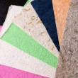 Handmade Paper Sheets — Stock Photo