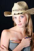 Modelo feminino — Foto Stock