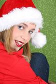 Adolescente de navidad — Foto de Stock