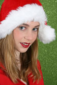 Christmas Teen — Stock Photo