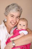 Avó e neta — Foto Stock