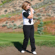 Female Golfer — Stock Photo #8152755