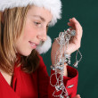 Christmas Girl — Stock Photo #8153813