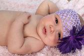 Relaxing baby — Stock Photo