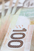 Hundred dollar bill — Stock Photo