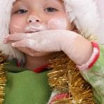 Baking Christmas Cookies — Stock Photo #8275080