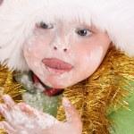 Baking Christmas Cookies — Stock Photo #8275194