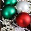 christmas balls — Stock Photo #8295450