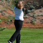 Female Golfer — Stock Photo #8295960