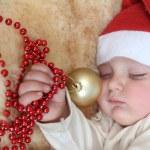 Sleepy christmas — Stock Photo