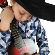 Royalty-Free Stock Photo: Cowboy Music