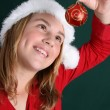 Christmas Girl — Stock Photo #8296146