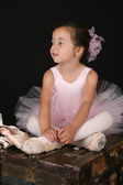 Ballet girl — Stock Photo