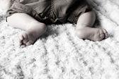 детские ноги — Стоковое фото