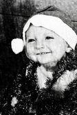 χριστούγεννα μωρό — Φωτογραφία Αρχείου