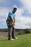 Golf preparation — Stock Photo