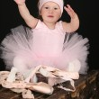 Royalty-Free Stock Photo: Little ballet girl