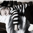 Sleeping baby — Stock Photo #8339080