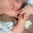 Sleeping baby — Stock Photo #8339238