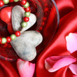 Valentines day hearts - Stock Photo
