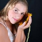 Sunflower Whispers — Stock Photo