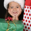 Christmas Girl — Stock Photo #8378111
