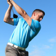 Young golfer — Stock Photo