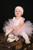 Ballet Toddler — Stock Photo