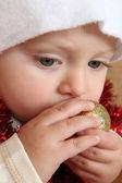 Bebê de natal — Foto Stock