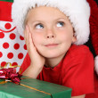 Christmas boy — Stock Photo #8447400