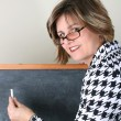 Beautiful School Teacher — Stock Photo