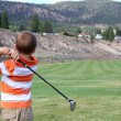 Young golfer — Stock Photo #8448508