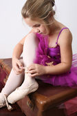 Ballerina dreamer — Stock Photo