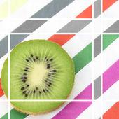 Rebanada de kiwi — Foto de Stock