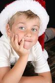 Christmas boy — Stock Photo