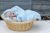 Lonely baby — Stock Photo