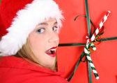 Noel teen — Stok fotoğraf
