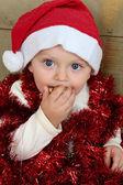 Christmas boy — Zdjęcie stockowe