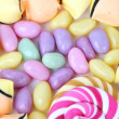Candy assortment — Stock Photo