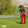 Foto de Stock  : Putting