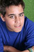 Modèle masculin chez les adolescentes — Photo