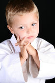 Karate Boy — Stock Photo