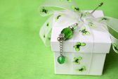Butterfly Gift Box — Stock Photo