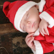 Sleeping Santa — Stock Photo