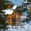 Stockfoto: Log Cabin