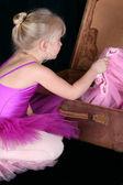 Blond Ballerina — Stock Photo